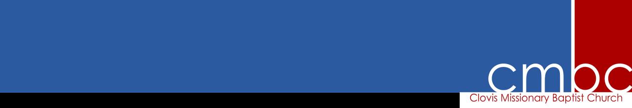 Clovis Missionary Baptist Church Logo